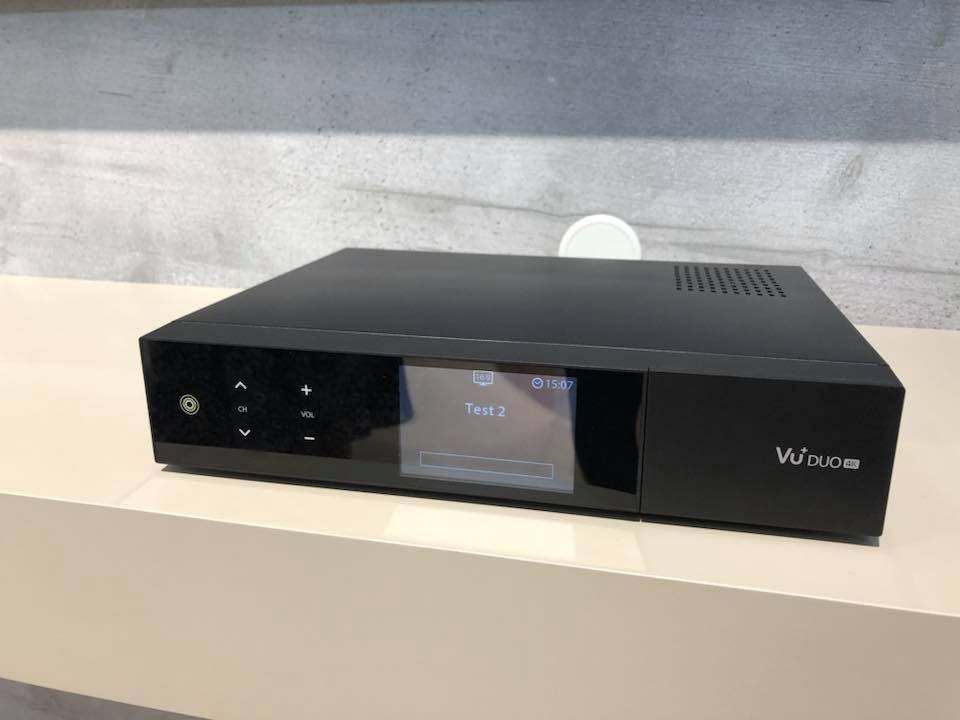 Vu+ Announced New STB DUO 4K model at ANGACOM 2018