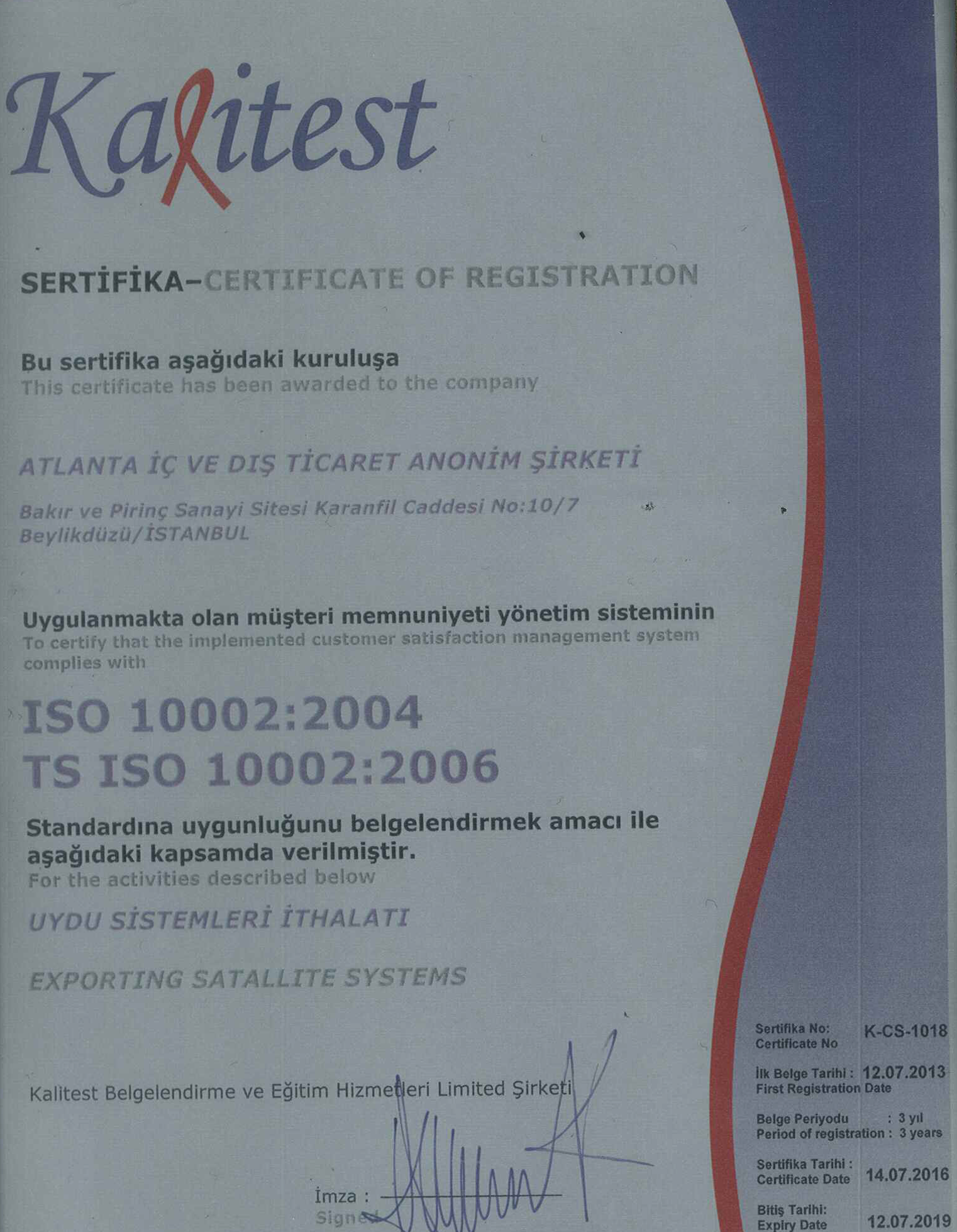 ISO 10002:2004