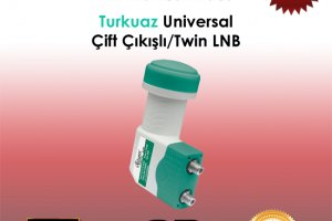 Atlanta Turkuaz Universal HD Twin LNB