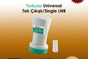 Atlanta Turkuaz Universal HD Single LNB
