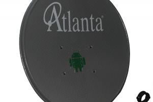 Atlanta 70 cm Delikli Çanak Anten