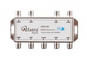 Atlanta ADS-03 1x8 Diseqc