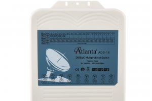 Atlanta ADS-16 1x16 Multiprotocol DiSEqC Switch